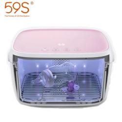 59S UVC LED Milk Bottles Sterilization Box - Pink