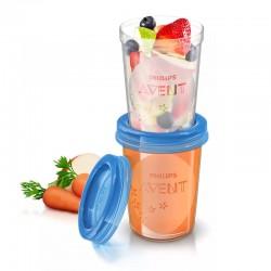 Avent Food Storage Cup - 240 ml x 5 pcs