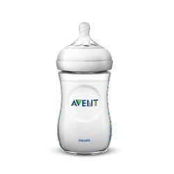 Avent Natural Baby Bottle (PP) with pattern  - 260 ml