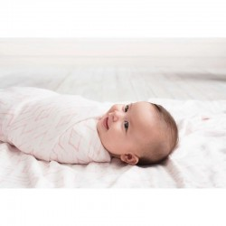 Aden+Anais Silky Soft Swaddle 3pcs - Berry Shibori
