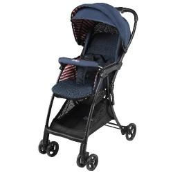 Aprica Magical Air Cushion Flat High Seat Stroller - Navy