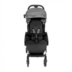 Baby Star Tavo R+ Baby Stroller with Carrying Bag - Grey
