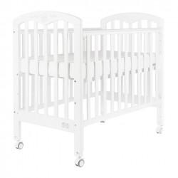 """Baby Star Cozzi Baby Cot,  White - 43 x 26"""""""