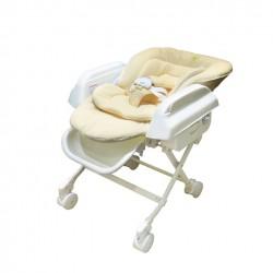 Baby Star Hi-Lo Swing High Chair - Beige