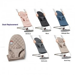 Babybjorn Extra Fabric Seat for Bouncer Bliss - Cotton