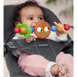 Babybjorn Wooden Toy for Bouncer- Googly eyes