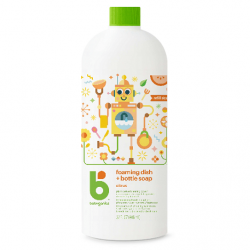 Babyganics Foaming Dish & Bottle Soap Refill 946ml - Citrus