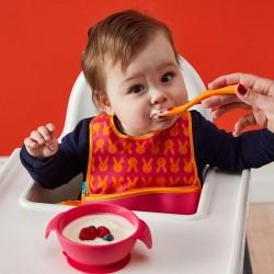 B.Box Silicone First Feeding Set - Strawberry Shake