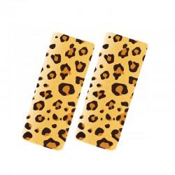 BenBat Travel Friends Seat Belt Pals -  1-4 years - Leopard