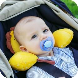 BenBat Travel Friends Headrest  - Chick (0 - 12 months)