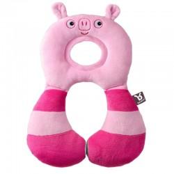 BenBat Travel Friends Headrest - Pig (1 - 4 years)