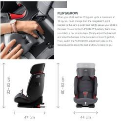 Britax Advansafix IV R Car Seat - Red (2000030743)