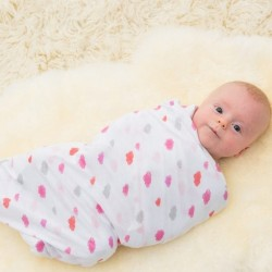 Bubble Bamboo Bubble Wrap - Dream Pink