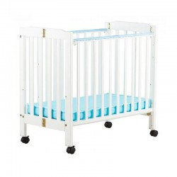"""C-Max Foldable Baby Cot , White - 38 x 22"""""""