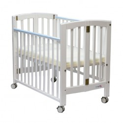 """C-Max Foldable Baby Cot , White - 43 x 24"""""""