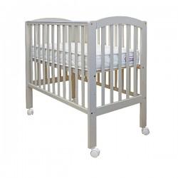 "California Bear Mars Plus Baby Cot  - Pearl Grey  - 37.9 x 22 """