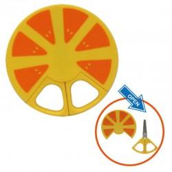 California Bear Baby Food scissor - Orange
