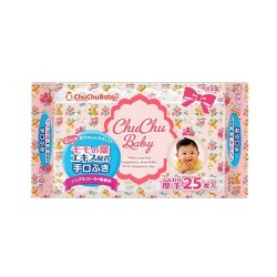 Chu Chu Wet Tissues - 25 pcs