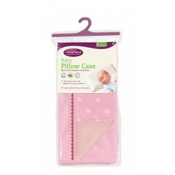 Clevamama ClevaFoam® Baby Replacment Pillow Case - Pink (7507)