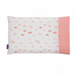 Clevamama ClevaFoam® Toddler Replacement Pillow Case - Coral (3306)