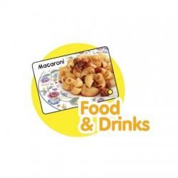 CrocoPen Talking Flash Cards - Food & Drink