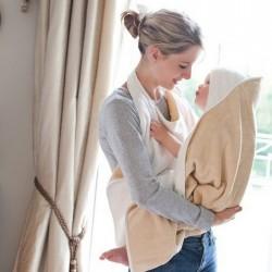 Cuddledry Original Baby Bath Towl- Oatmeal