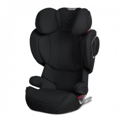 Cybex Solution Z Plus I-Fix Car Seat - Deep Black