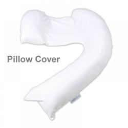 dreamgenii pregancy support & feeding pillow Cover - White