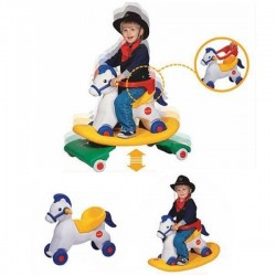 Edu.play 3 in 1 Rocking Horse - Spring Pony