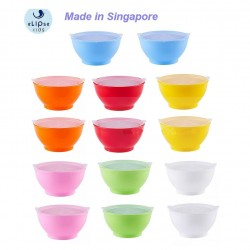 eLIpse Kids 8oz Non-Spill Bowl with Lid - 2 pcs