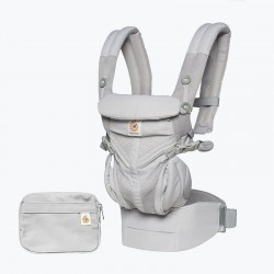 Ergobaby Omni 360 Cool Air Mesh Baby Carrier - Pearl Grey