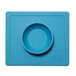 ezpz Happy Bowl & Placemat - Blue