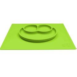 ezpz HAPPY MAT Plate & Placemat - Lime