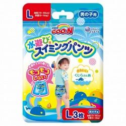 Goon disposable swimming pants - Blue Large ( 3 pcs)