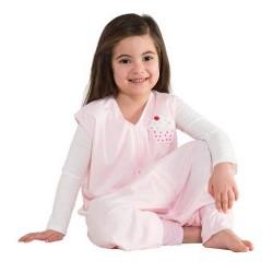 HALO SleepSack Big Kids, Lightweight Knit - Pink Cake ( 2-3T)