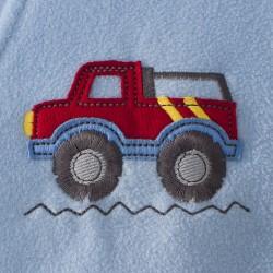 HALO SleepSack Big Kids, Micro-fleece - Truck ( 4-5T)