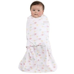 HALO SleepSack Swaddle, Cotton - Pink Arrows