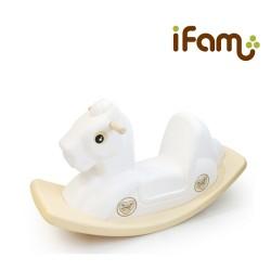 IFam Pony Rocking Horse - White