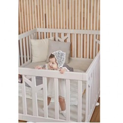 ifam Birch baby room panels 2 pcs - Brown