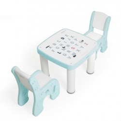Ifam Table & Chairs Set - Mint