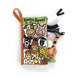 Jellycat Coucou Ferme Tails Book