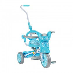 Baby Star x Kids Star Foldable Tricycle - Cool Mint
