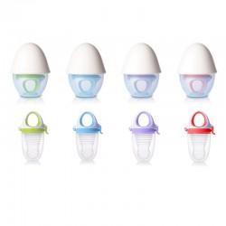 Kidsme Food Feeder Plus with Egg shape Silicone (Top) Grinder