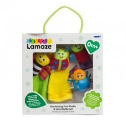 Lamaze Gardenbug Foot Finder & Wrist Rattle Set