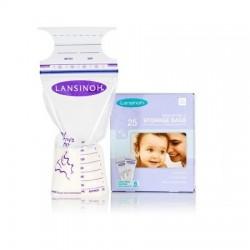 Lansinoh Breast Milk Storage Bags - 25 pcs