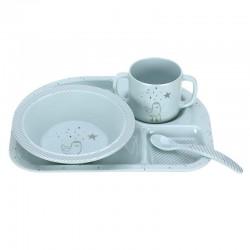 Lassig Children Tableware Set - Blue Seal (1310011466)