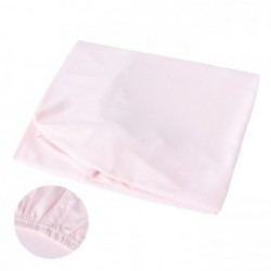 Minimoto Fitted Sheet for Baby Cot - Pink