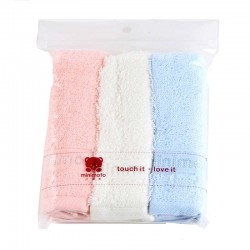 Minimoto baby cotton towels - 3 pcs