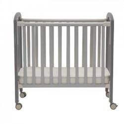 "Misuki Baby Cot (Grey) - 40 x 24"""