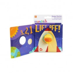 Munchkin Soapy Storie Space Puppet Bath Book